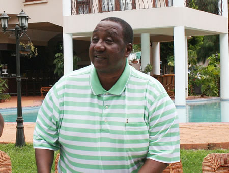 Minister of Defence Mwamba