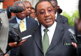 Defence Minister GB Mwamba