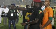 Senegal fans riot after Drogba's second goal