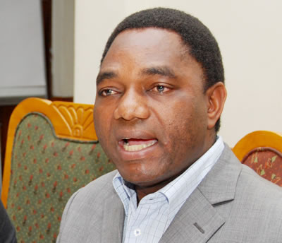 Hakainde Hichilema
