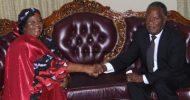 President Joyce Banda visits Zambia