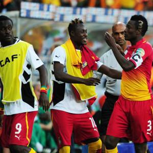 Asamoah Gyan © Backpagepix