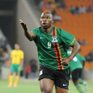 Striker Collins Mbesuma