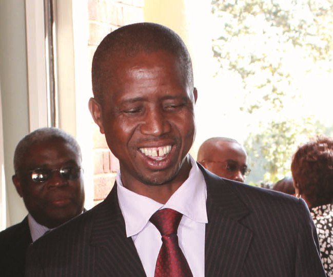 Home Affairs Minister Edgar Lungu