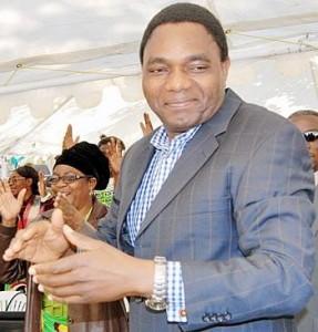 UPND Leader Hakainde Hichilema