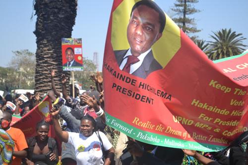Zambian eye UPND