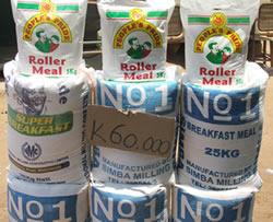 25Kg bags of Mealie meal