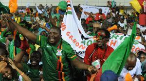 File: Soccer fans celebrating