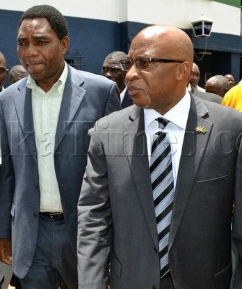 File: HH with Nevers leaving Police Station