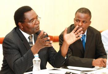 Zambian eye Godfrey Miyanda