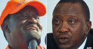 Kenyans await results as Uhuru Kenyatta takes early lead