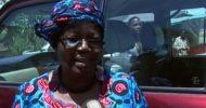 Faustina Sinyangwe's vehicle smashed