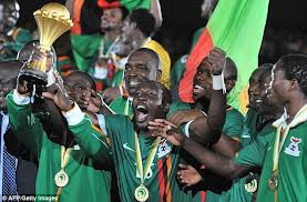 Zambia lifting their first AFCON Title