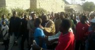 HH interacts with Matero residents