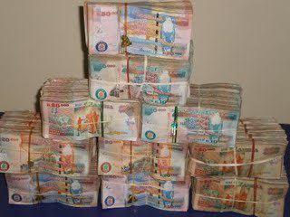 zambian-kwacha notes