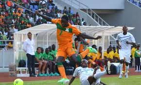 File: Jacob in action during Zambia, Ghana game in Ndola