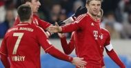 Bayern Munich win the treble