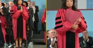 Oprah Winfrey receives an Honorary Doctor of Laws Degree  at 2013 Harvard University