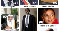 The Black Billionaires 2013