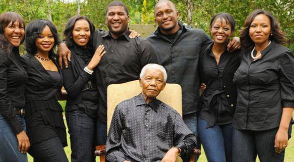 The Mandela's in good times