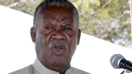 Despite the rumours, Mr Sata appeared in public in May