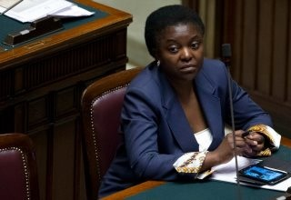 Cecile Kyenge has faced constatnt verbal attacks from other Italian politicians