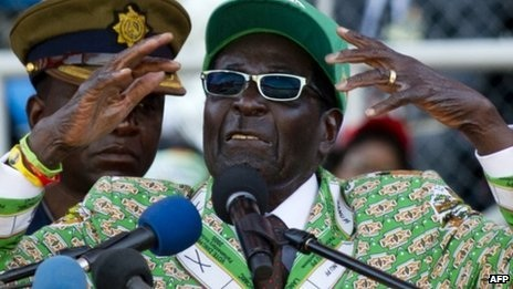 President Robert Mugabe has said he is confident of victory