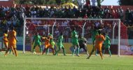 Zambia battles for a goalless draw with Zimbabwe