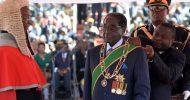 Mugabe Sworn In As Zimbabwe President, With Free Fizzy Drinks For Supporters