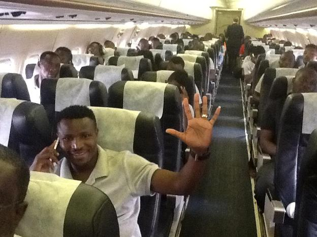 Chipolopolo off to Ghana