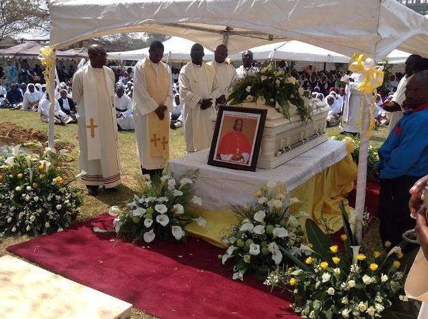 Cardinal Mazombwe's resting place