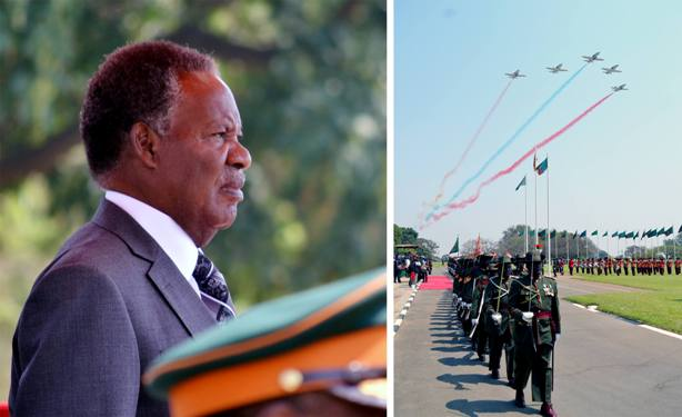 President Sata during the official  opening of the National Assembly. Picture by STEPHEN KAPAMBWE/TIMES OF ZAMBIA
