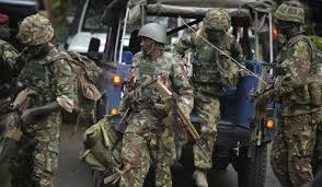 Kenyan forces