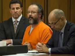 Ariel Castro, pictured August 1, 2013 during his sentencing in Cleveland, Ohio.