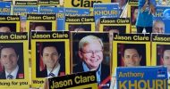 Australian PM Rudd heads for election wipe-out