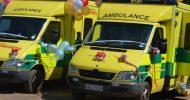 TIMELY INTERVENTION: Kaindu Clinic receives ambulance donation