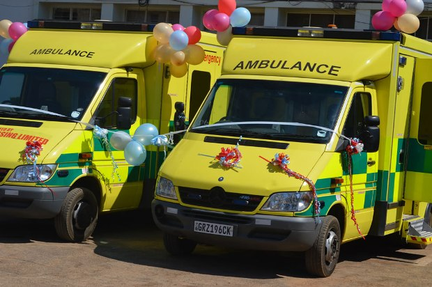 Donated Ambulances to Kabwe General Hospital