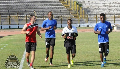 Stophila Sunzu, Rainford Kalaba and Nathan Sinkala