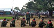 Myanmar president visits riot hit western state
