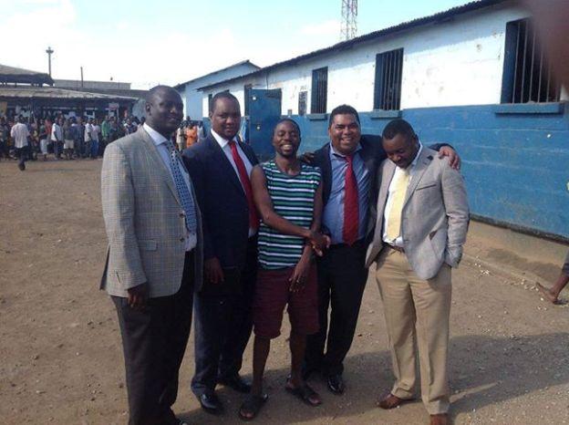 Masumba at prison