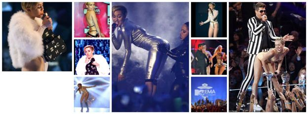 Oops, she did it again. At the MTV European Music Awards