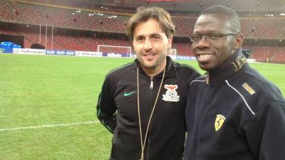 Patrice Beaumelle with Mwanza