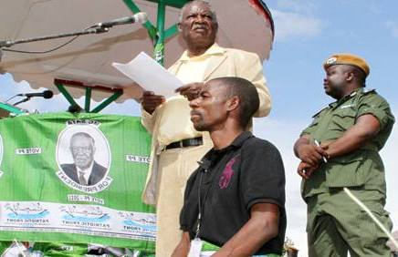 File: Sata campaigning for Masumba during by-elections