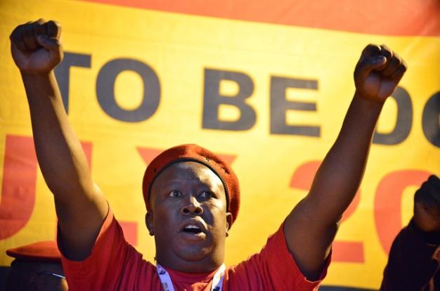 Julius Malema pays tribute to Mama Winnie