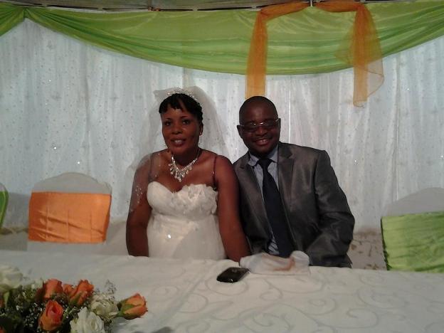 Zambian Eye staffer weds