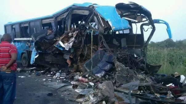 Accident Namwala bus
