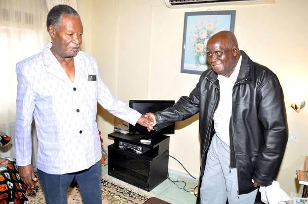 President Sata with KK at Hospital