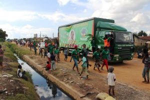 File: Green Party campaign truck in Kitwe