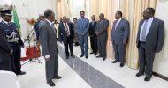 Sata swore in Musa Mwenye, Abraham Mwansa