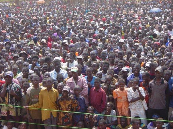 Chikuni concert crowd